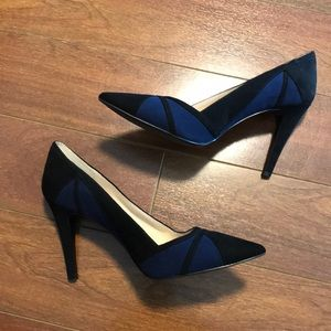 Nine West pumps faux suede high heels 👠